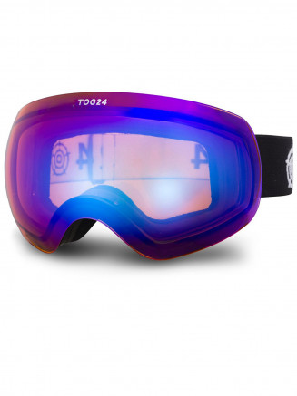 Mens Womens Megeve 2 Lens Goggles Black