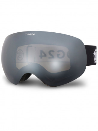 Mens Womens Megeve 3 Lens Goggles Black