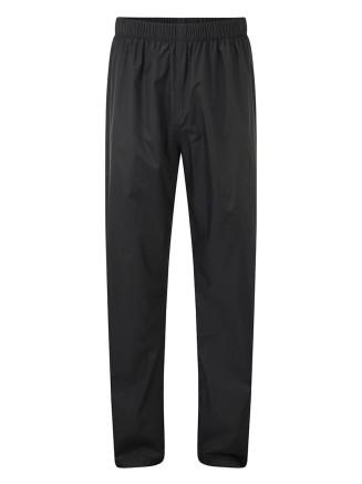 Mens Craven Waterproof Packaway Trousers Black