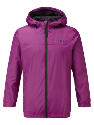 Kids Craven Waterproof Packaway Jacket Purple