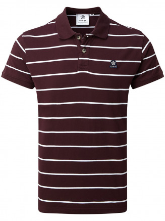 Mens Alfie Polo Red