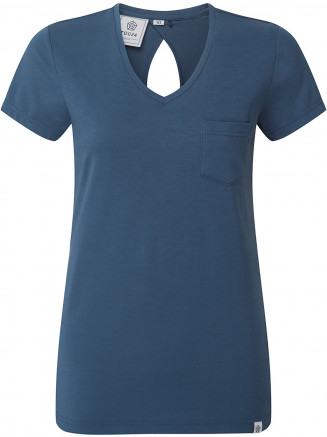 Womens Bianca Drirelease Wool T-shirt Blue