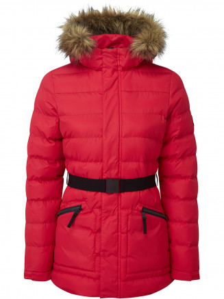 Womens Blake Tcz Thermal Jacket Red