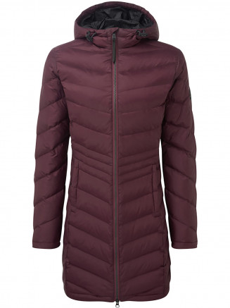 Womens Bramley Down Jacket Red