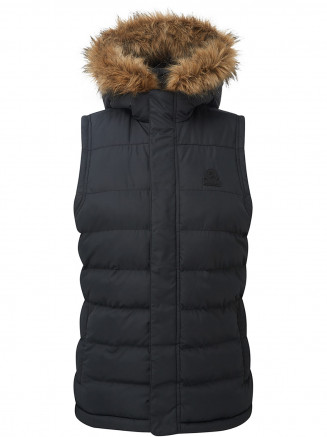 Womens Ilkley Tcz Thermal Gilet Black