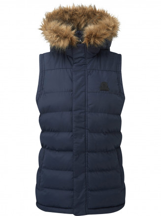 Womens Ilkley Tcz Thermal Gilet Blue