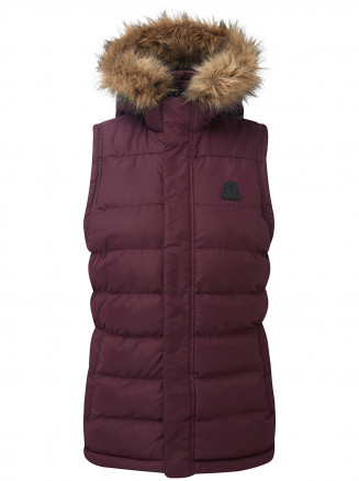 Womens Ilkley Tcz Thermal Gilet Red