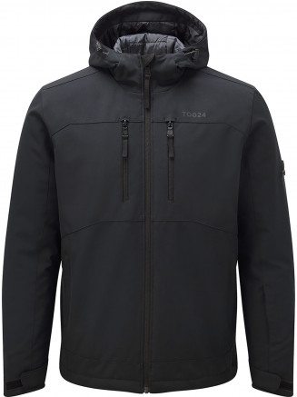 Mens Rigg Tcz Thermal Hoody Black