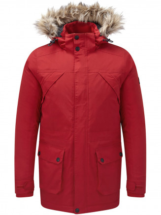 Mens Superior Milatex Jacket Red