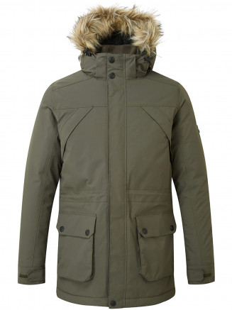 Mens Superior Milatex Jacket Green