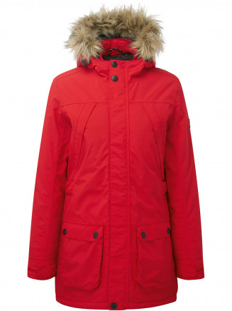 Womens Superior Milatex Jacket Red