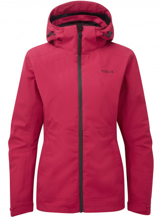 Womens Twiss Milatex 3 In 1 Jacket Pink