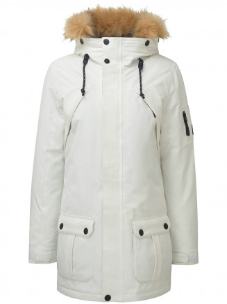 Womens Ultimate Milatex/down Jacket White