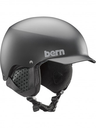 ee3c2164cd8ad Bern Mens Baker Helmet With Liner Black