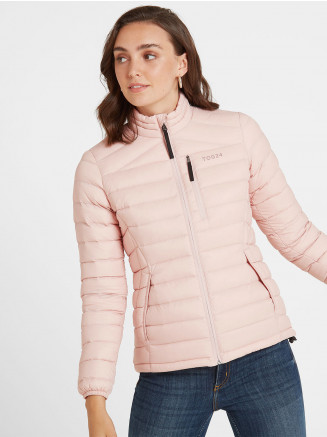 Womens Base Funnel Down Jacket Pink
