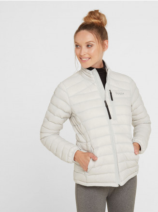 Womens Base Funnel Down Jacket Grey