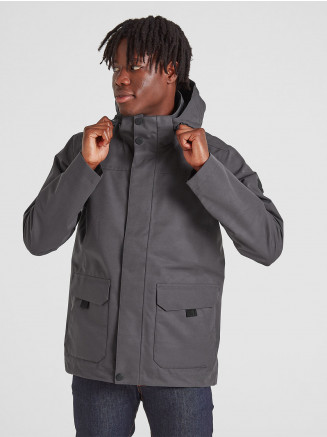 Mens Beamsley Waterproof Jacket Grey