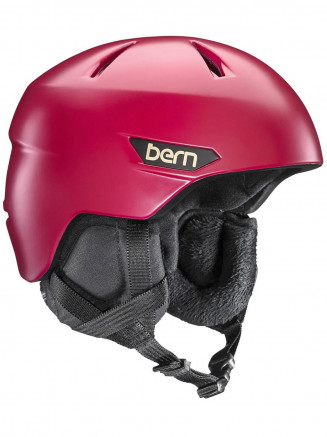Mens Bristow Zipmold Plus Helmet Red