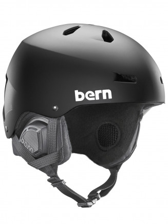 Mens Macon Eps Helmet With Liner Black
