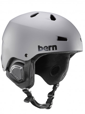 Mens Macon Eps Helmet With Liner Grey