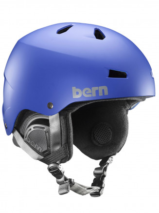 Mens Macon Eps Helmet With Liner Blue