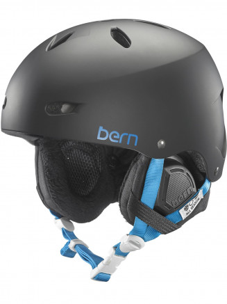 Womens Brighton Thin Shell Helmet With BOA Winter Liner Black