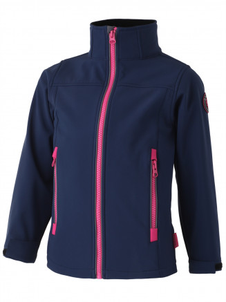 Girls Izzy Softshell Jacket Blue