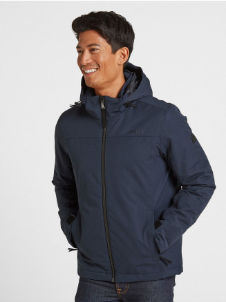 Mens Cawood Jacket Blue