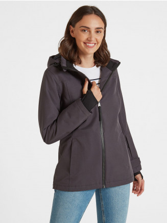 Womens Cawood Jacket Grey
