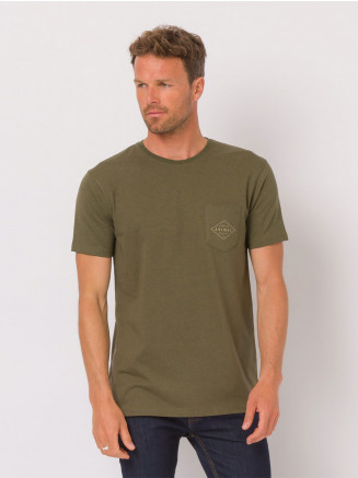 Mens Crafted Tshirt Green