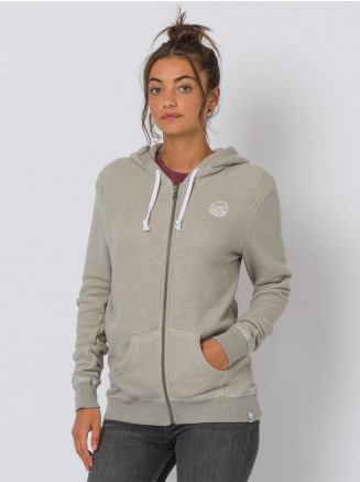 Womens Trailz Zip Through Hoodie Grey