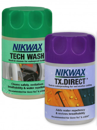 Tech Wash 150ml Tx Direct 100ml - Combi Pack