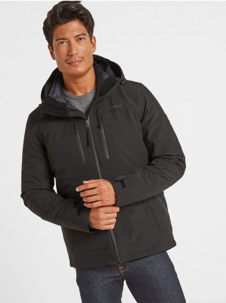Mens Denton Waterproof 3-in-1 Jacket Black