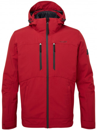 Mens Denton Waterproof 3-in-1 Jacket Red