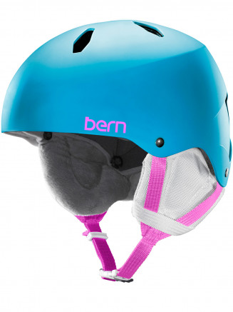 Girls Team Diabla Eps Helmet With Liner Blue