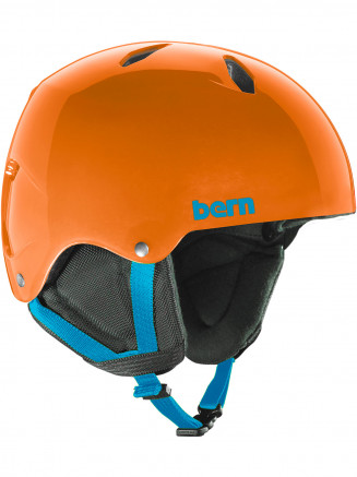 Boys Team Diablo Eps Helmet With Liner Orange