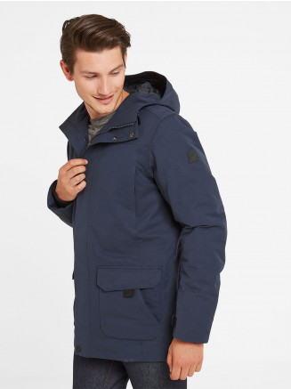 Mens Dight Waterproof Parka Blue