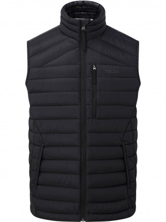 Mens Drax Down Gilet Black