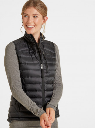 Womens Drax Down Gilet Black