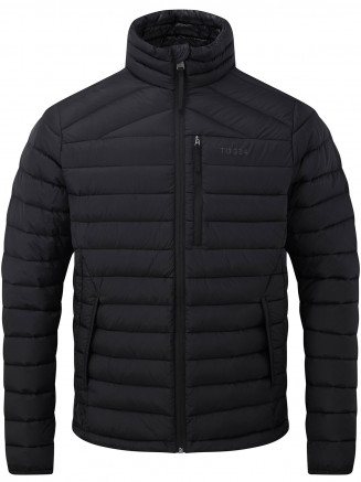 Mens Drax Funnel Down Jacket Black