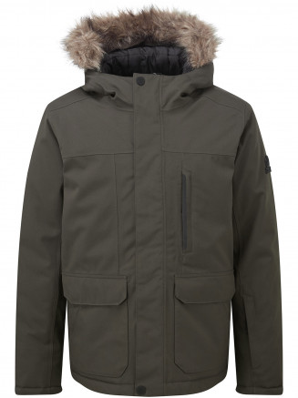Boys Duggan Waterproof Jacket Green