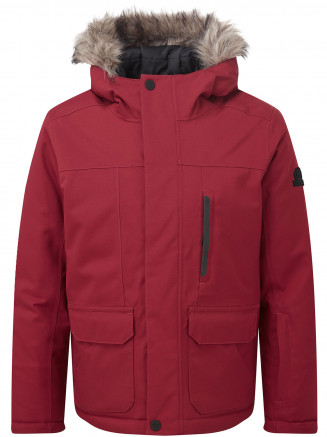 Boys Duggan Waterproof Jacket Red