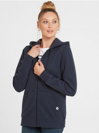 Womens Erin Zip Hoody Blue
