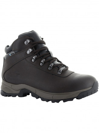 Womens Hi-tec Eurotrek Lite Wp Brown