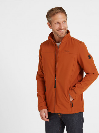 Mens Feizor Softshell Jacket Orange