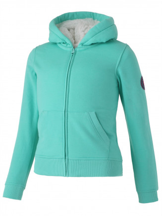 Girls Flow Sheep Hoody Turquoise