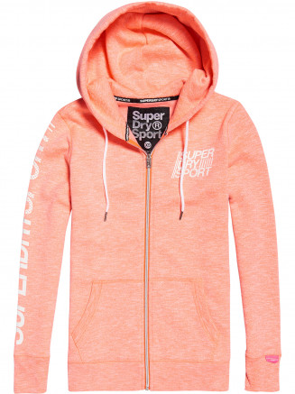 Womens Sport Essentials Zip Hoody Pink
