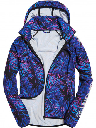 Womens Sport Lightweight Jacket Blue