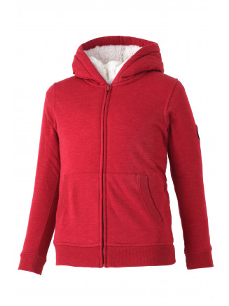 Boys Graze Sheep Hoody Red