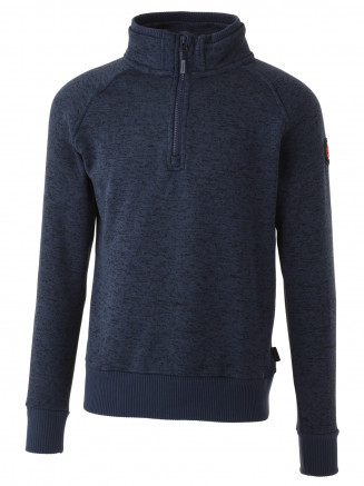Mens Greavsie Half Zip Fleece Blue